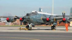SAAF Museum Avro Shackleton MR.3 - Engine Run Ysterplaat, Cape Town