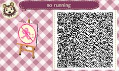 yiq:  for some reason this was posted onto my porn blog instead of my main sdklfklsdKLSD GOD i made a no running sign