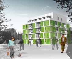 BIQ, el edificio sostenible que ahorra energía gracias a las algas  En la ciudad alemana de Hamburgo, un estudio de arquitectura ha construido el Bio Intelligent Quotient (BIQ), un interesante ejemplo de arquitectura sostenible materializada en un edificio de apartamentos que utiliza algas para ahorrar energía. Como la ciencia puede ser beneficiosa para nosotros y las generaciones futuras, pensando en grande.