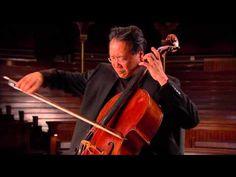 Sarabande from J.S. Bach's 2nd Unaccompanied Cello Suite, Yo Yo Ma.