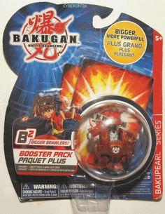 Bakugan WARIUS Red Pyrus Battle Brawler B2 Bakupearl SEALED Brawler Pop-Open