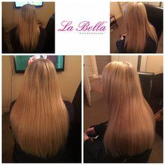 "Full head 16"" La Bella Nano tips £390👌🏼 #hairextensionskent #hairextensionsnottingham #hairextensionsessex #hairextensionskent #hairextensionslondon #hairextensionssurrey #nanorings #mobilehairextensions #blonde #longhair #nanoringsguildford #nanoringscolchester #discreethairextensions #hairblog #hairextensionsblog"