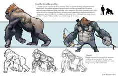 Gorilla Study by JetEffects on DeviantArt