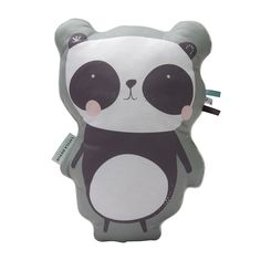 Twee Ons Geluk - Little Dutch Kussen Panda Mint Accessoires Babykamer Kinderkamer - In de Slaapkamer