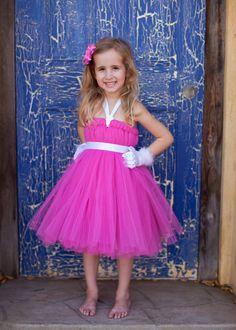 Dark Pink Full Tutu Dress