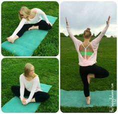Alo Yoga Summer 2014 Line - Cinder Long Sleeve top in Blush | via HerHappyBalance.com
