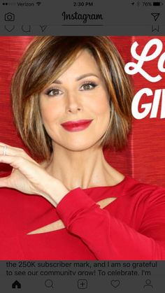 Medium Hair Styles, Short Hair Styles, Dominique Sachse, Corte Bob, Hair Skin Nails, Hair Affair, Layered Hair, Great Hair, Hair Today