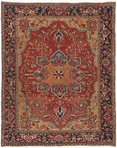 SERAPI, Northwest Persian 5ft 2in x 6ft 4in Late 19th Century http://gallery.claremontrug.com/gallery/?p=1