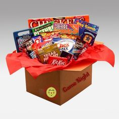 giftbaskets.com  -  It's Family Game Night Care Package