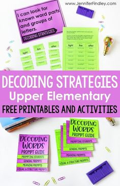 Decoding Strategies and Prompts for Upper Elementary