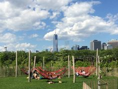 Governors Island's New 30-Acre Park, Designed by West 8 is Open
