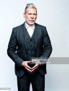 Fashion designer Nick Wooster is photographed for August Man on March 20, 2015 in New York City.