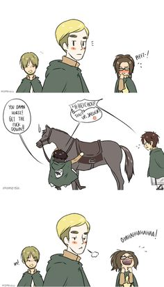 Need some help, Levi? by MomoNiu on deviantART