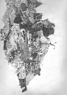 "Fabio Alessandro Fusco, Italian architect and teacher, made a set of drawings entitled ""Relational Cities""."