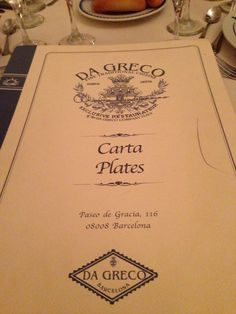 Great Italian restaurant in Barcelona !