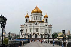 Moscú Catedral de Cristo Salvador