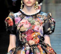 Dolce and Gabbana f/w 2012