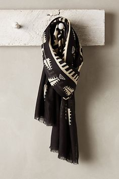 Geo Graphic Scarf - anthropologie.com #anthroregistry