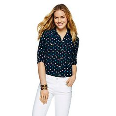 Just fell in love with the Ikat Dot Silk Blouse for $99.99 on C. Wonder! Click on the image and receive 20% off your next full-price purchase and find something you love too!