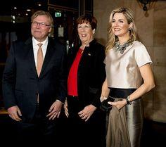 Queen Maxima attends the Prix Veuve Clicquot Businesswoman ceremony