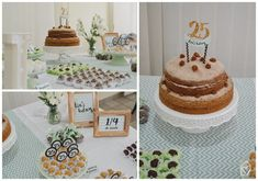 Isa's bday: festa DIY com decor menta e cobre