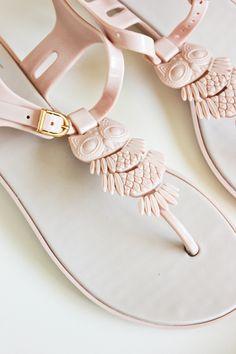 owl sandals...O.O