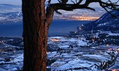 The light from a full moon illuminates the valley at twilight in this view south from Giant's Head Mtn. Vancouver City, Canadian Girls, British Columbia, West Coast, Places Ive Been, San Diego, Beautiful Places, Canada, Landscape