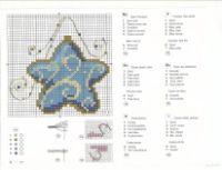 "Cross-stitch Christmas Ornament, part 2... Gallery.ru / mikolamazur - Album ""20"""