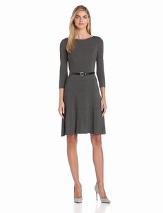 Long Sleeve Dress by Ann Klein