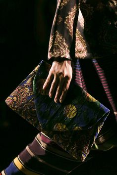 Dries Van Noten Runway Spring 2015 rtw runway hi res