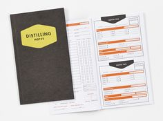 King's County Distillery Whiskey Distilling Notes. #abramsnoterie