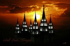 Salt Lake Temple LDS.I want to go see this place one day. Please check out my website Thanks.  www.photopix.co.nz
