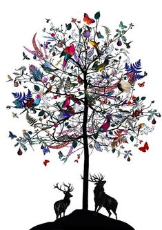 Beautiful and Bold Nature Mash-Ups - My Modern Metropolis