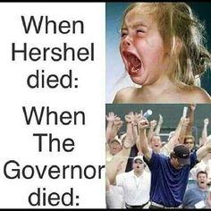 The Walking Dead. Llore demasiado cuando Hershel murio. Hasta mi mamá se enojo conmigo por que pensaba que era algo importante. Según ella. Eso a mi me mató.
