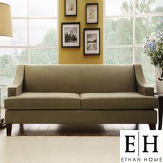 Superbe Inspire Q Winslow Concave Arm Modern Sofa
