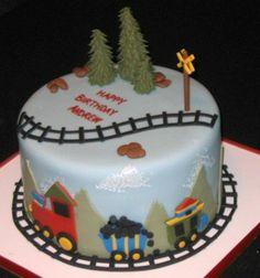 Train cake idea