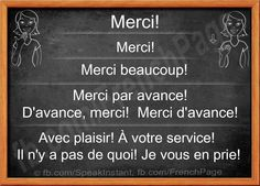 Merci...great for language ladder