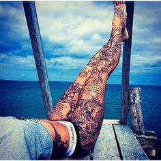 Tattos on legs