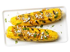 Corn With Chile-Lime Butter recipe from Aarón Sánchez via Food Network
