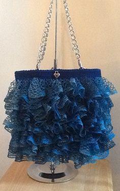 Crochet Sashay Purse by ChrissysCrochetShop on Etsy
