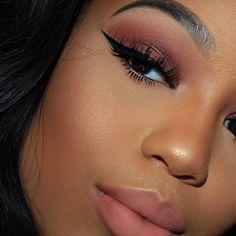 Makeup details      Foundation: @beccacosmetics ultimate coverage in Bamboo  Brows: @anastasiabeverlyhills brow definer in ebony Eyeshadow: @morphebrushes 35 N and brushes Liner: @lagirlcosmetics  Eyelashes: @lashesbylena Naomi and  Lips: Stephan by @lashesbylena  Highlight : @ofracosmetics you dew you  #hudabeauty #vegas_nay #wakeupandmakeup #morphegirl #makegirlz #slave2beauty #makeupartistsworldwide #1minutemakeup #makeupfanatic1 #makeupaddictioncosmetics #universodamaquiagem_official...