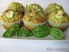 Muffin zucchine e pesto