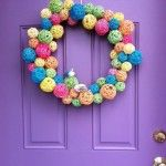 Make a Dollar Store Spring Wreath