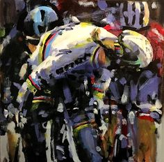 PAINTING LE TOUR: Classic Sagan!