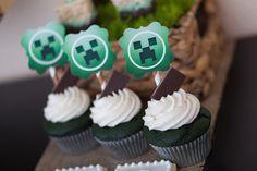 Minecraft Cupcakes #minecraft #cupcakes