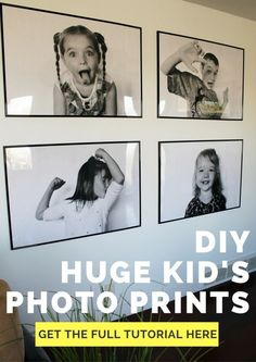 Your Ultimate Guide to DIY Engineer Prints DIY Huge Engineer Prints. These oversize statement art pr Diy Foto, Foto Fun, Photowall Ideas, Diy Home Decor For Apartments, Photo Deco, Boho Home, Kids Poster, Photo Displays, Living Room Designs