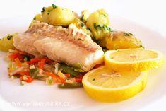 Díky triku s francouzskou zeleninou, na které se treska dusí, zůstane ryba nevysušená ...