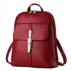 YIYINOE Brand Soft PU Leather Sequined Design Casual Women's Backpack Cute School Bag Lovely Fashion Travel Shoulder Bag ipad Daypack Small Day Backpacks For Teen Girls Burgundy