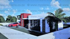 4 Bedroom House Plan MLB-1818s – My Building Plans South Africa