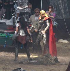 thor the dark world onset photos | Thor: The Dark World – Chris Hemsworth On Set Pics | SFX